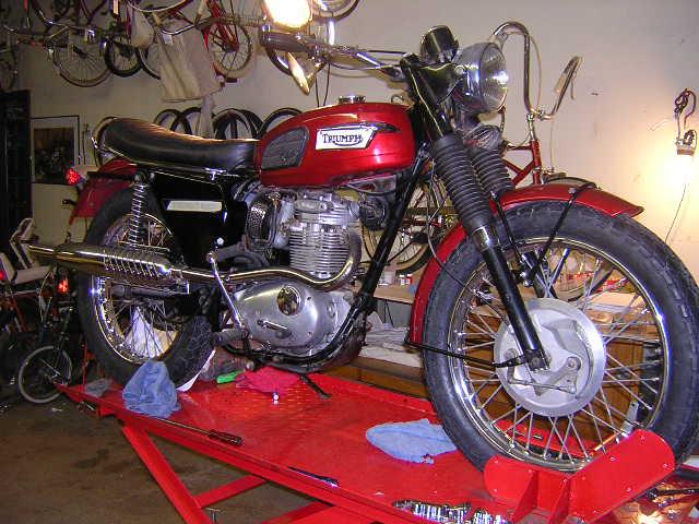 1968 Triumph Trophy