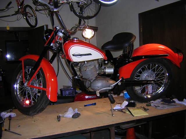 1964 Harley Davidson Pacer