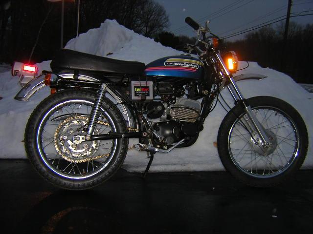 1974 HD SX 125
