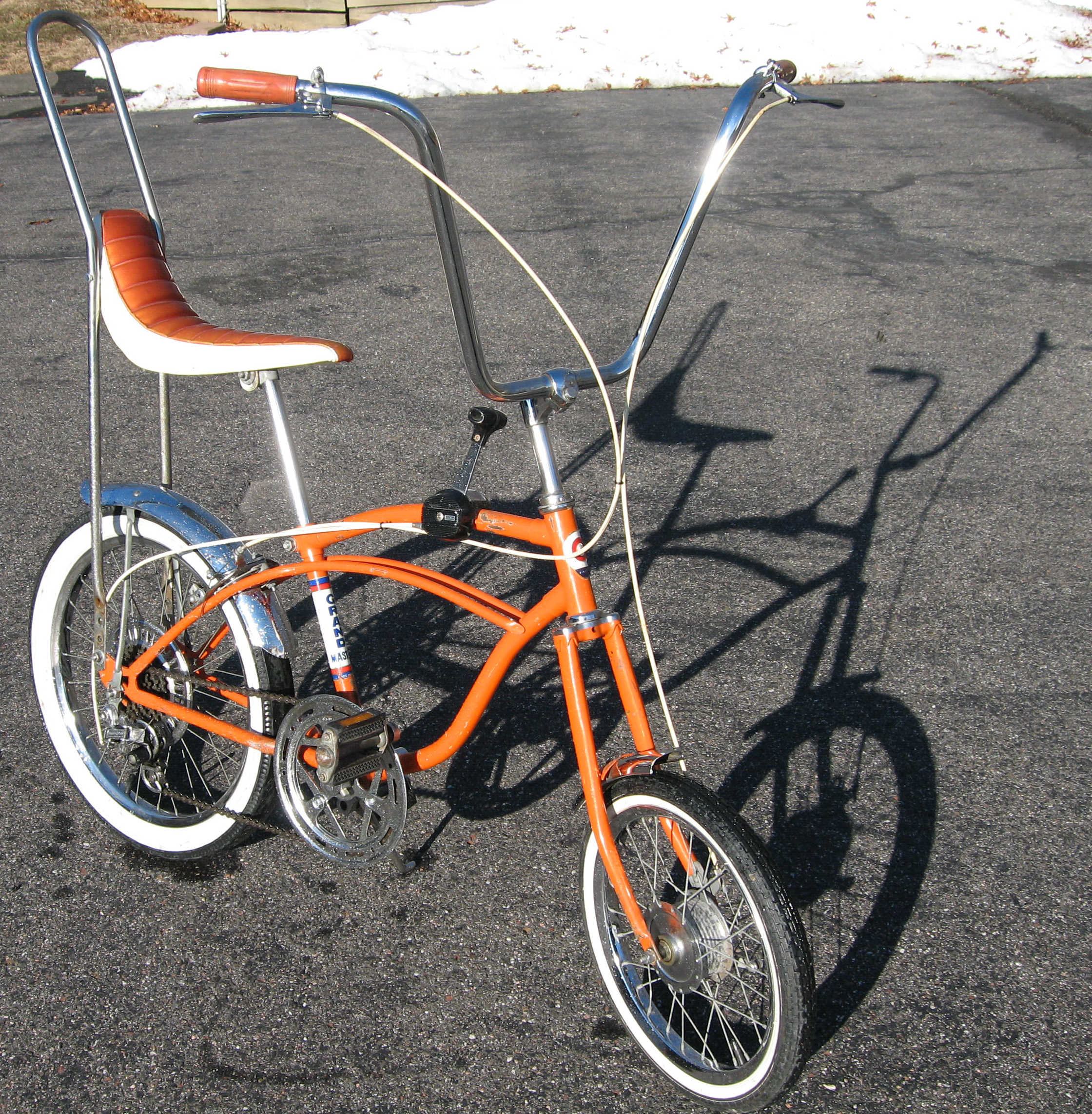 is a Japanese Muscle Bike